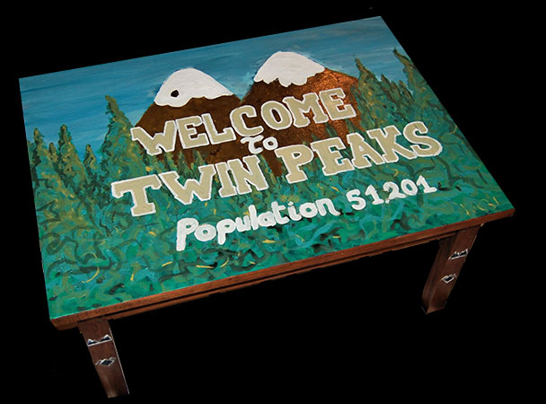 Table basse Twin Peaks