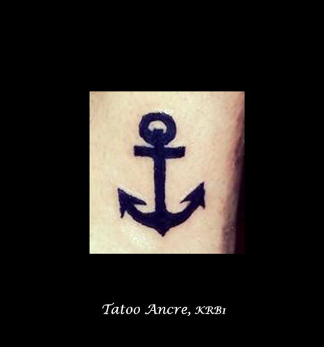 Tatoo Ancre